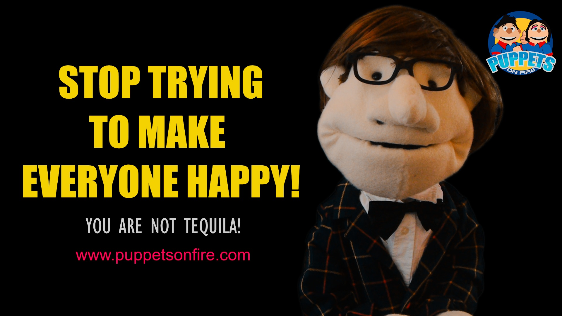 Stop trying to make everyone happy!